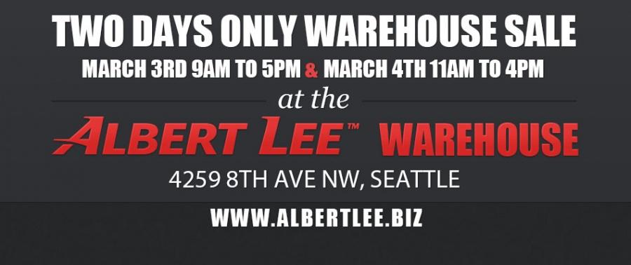 Albert Lee Appliance Warehouse Sale -- Sample sale in Seattle